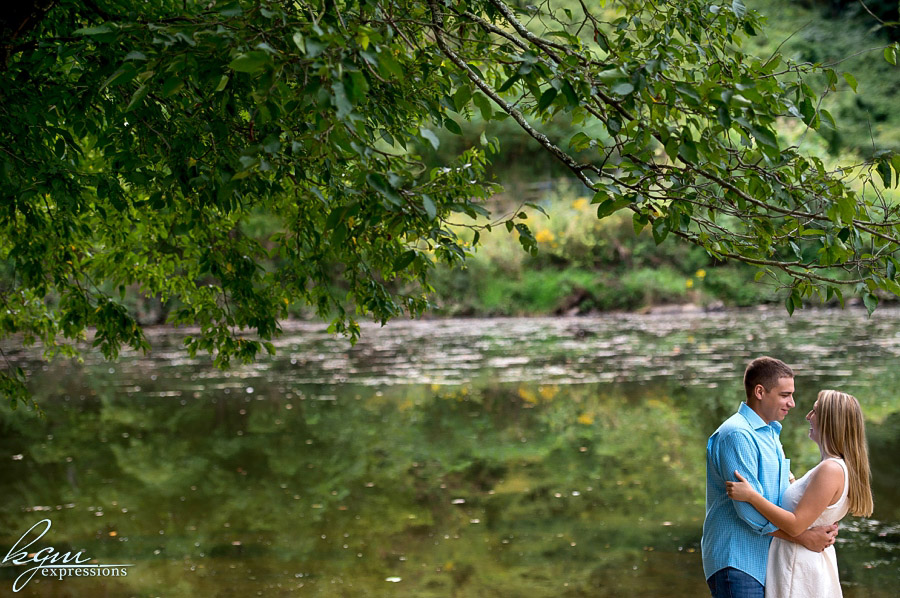 Tyler State Park Engagement