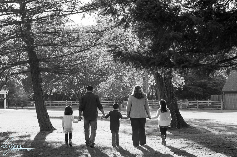 Allaire State Park Family Portrait