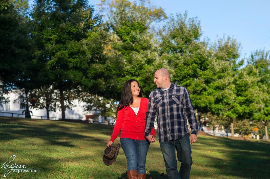 Smithville Park Engagement