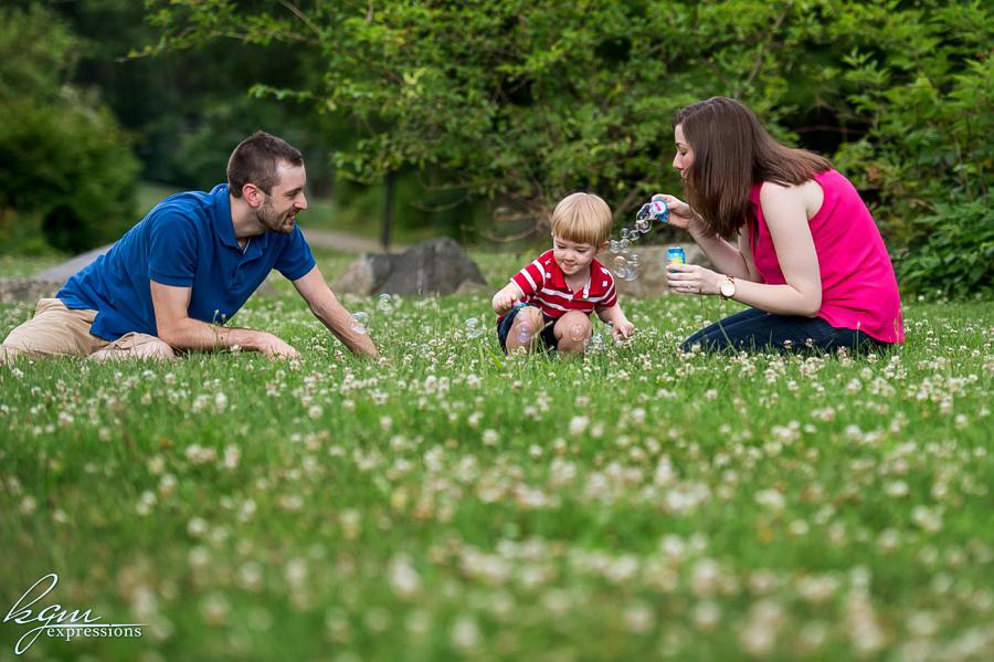 Newton Lake Park Family