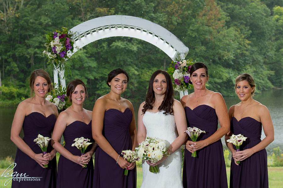 Mountain Lake House Wedding