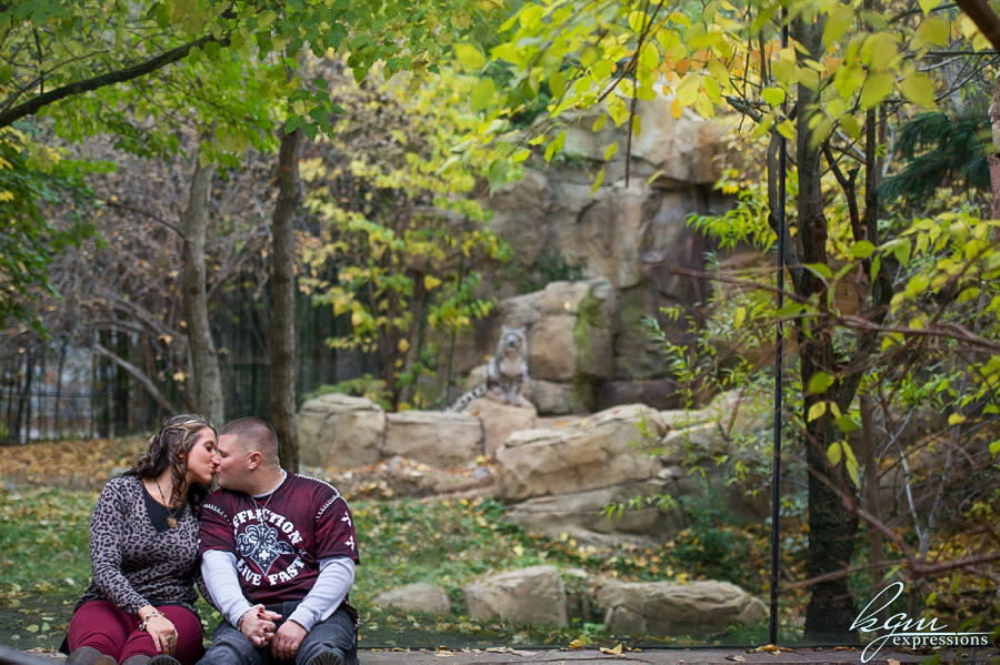 Philadelphia Zoo Engagement