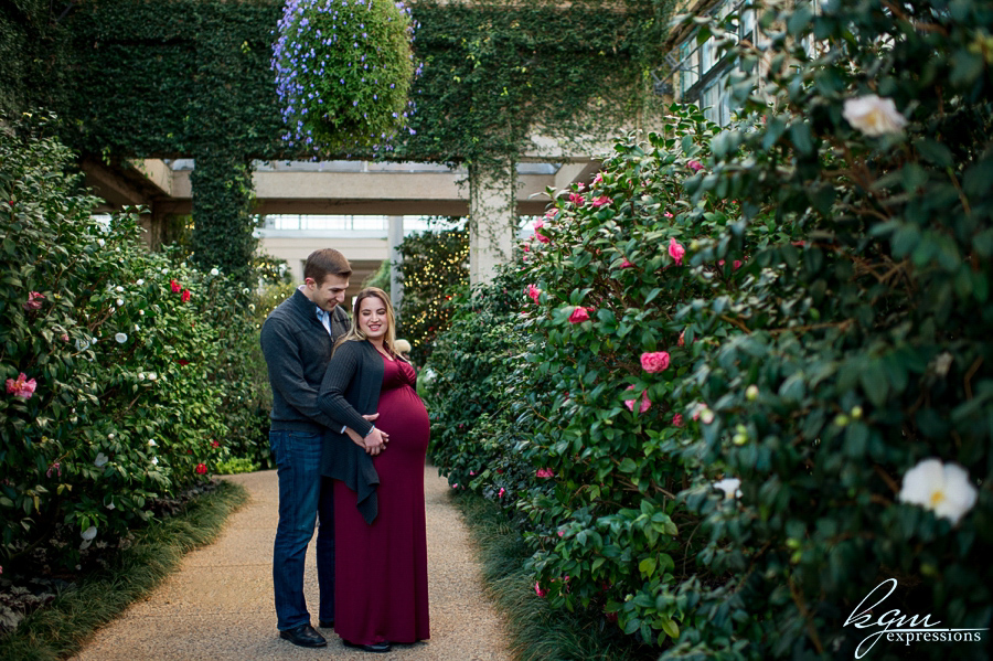 Rebecca\'s Maternity at Longwood Gardens — KGM Expressions