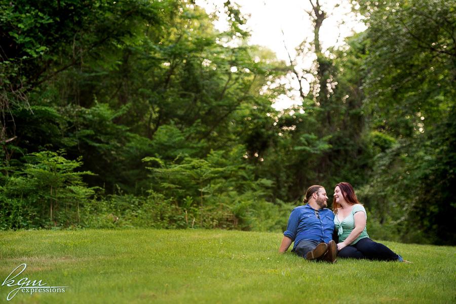 Wissahickon Park Engagement