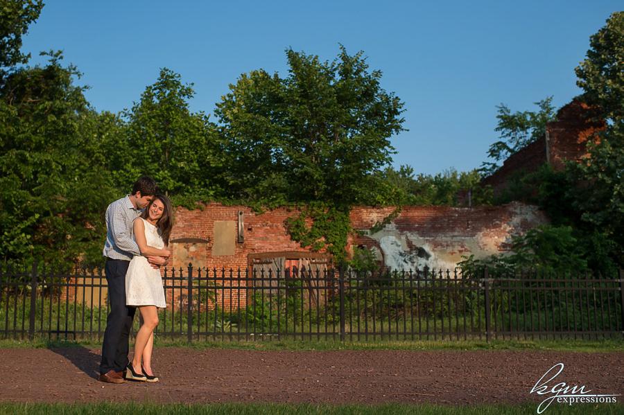 Smithville Mansion Engagement