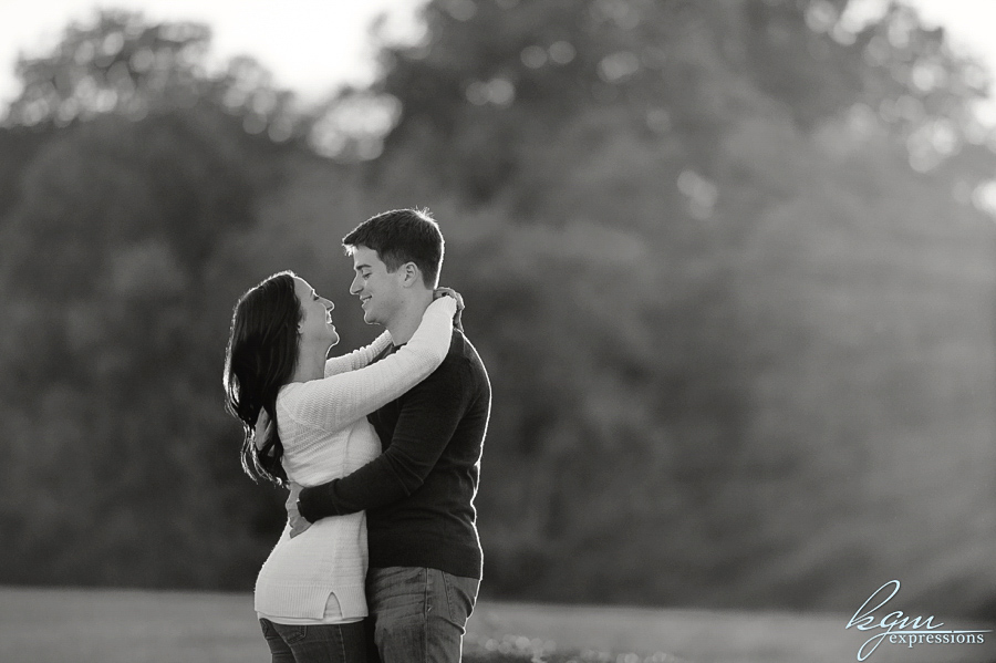 Smithville Mansion Engagement