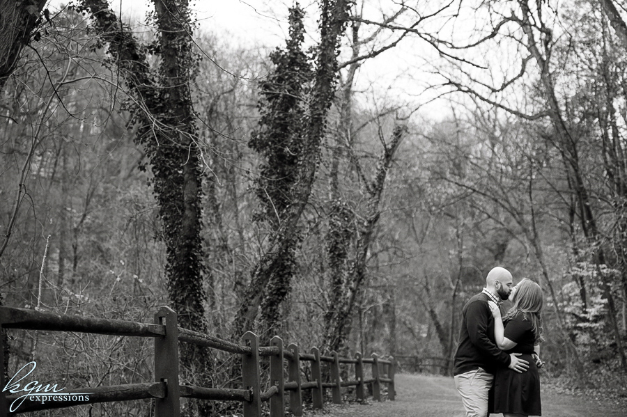 Wissahickon Park Engagement