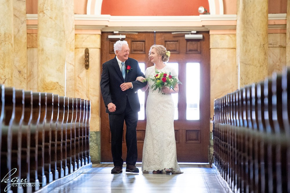 American Swedish Historial Museum Wedding
