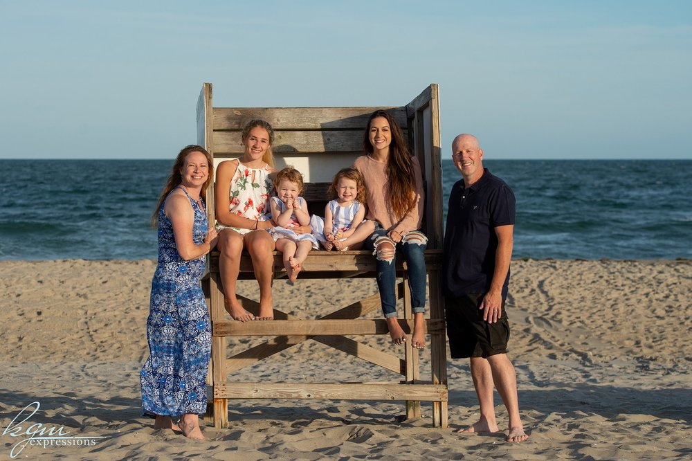 KGM Beach Family Photos