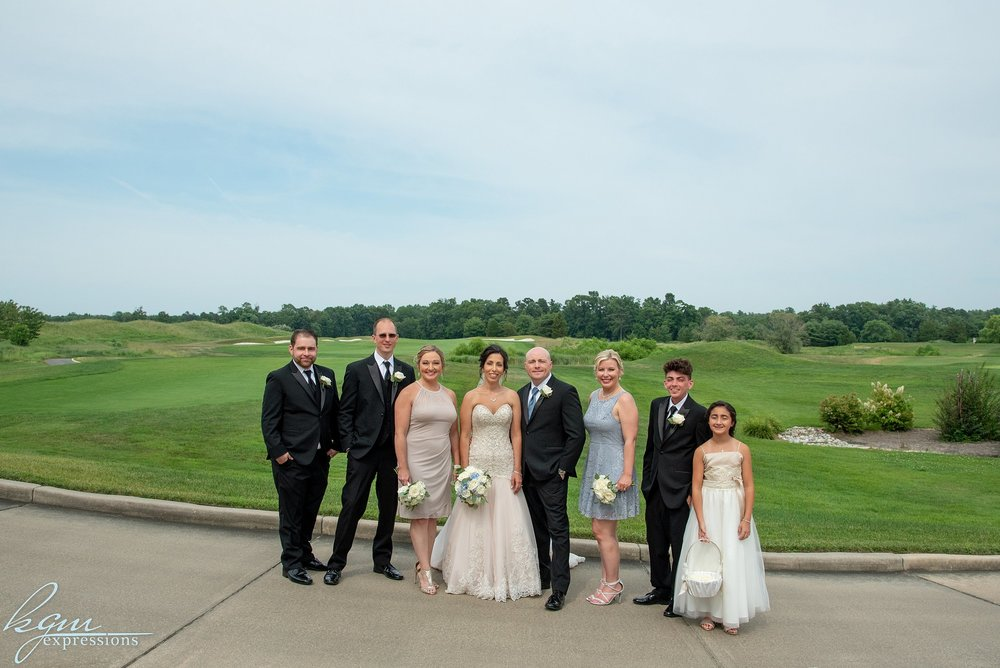Scotland Run Golf Club Wedding
