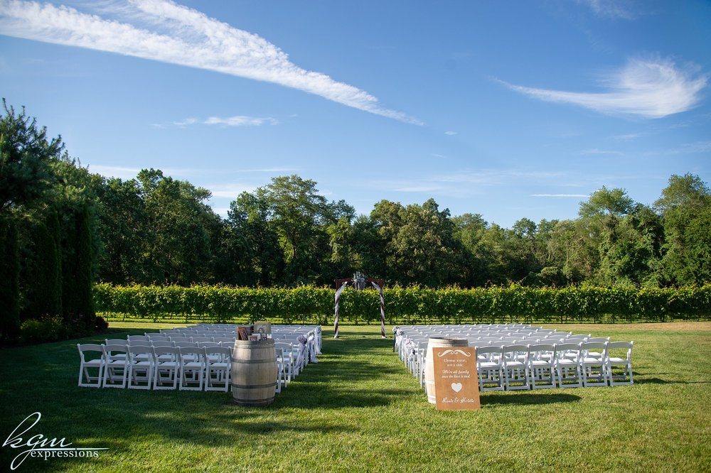 Valenzano Winery Wedding
