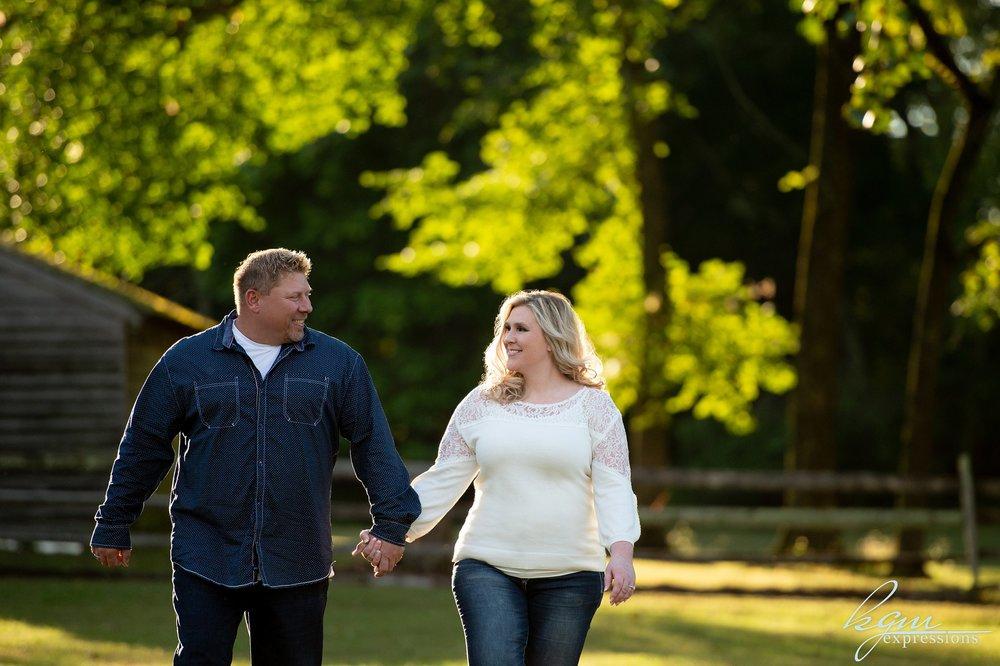 Batsto Village Engagement Photos