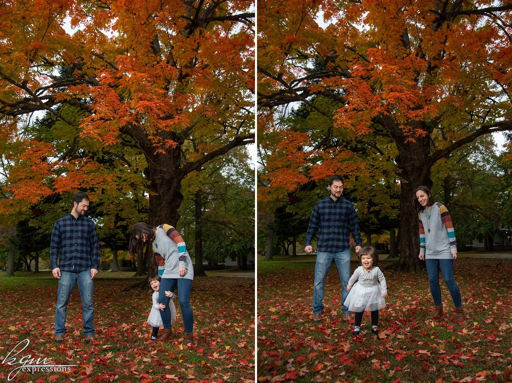Knight Park Collingswood Family Photos