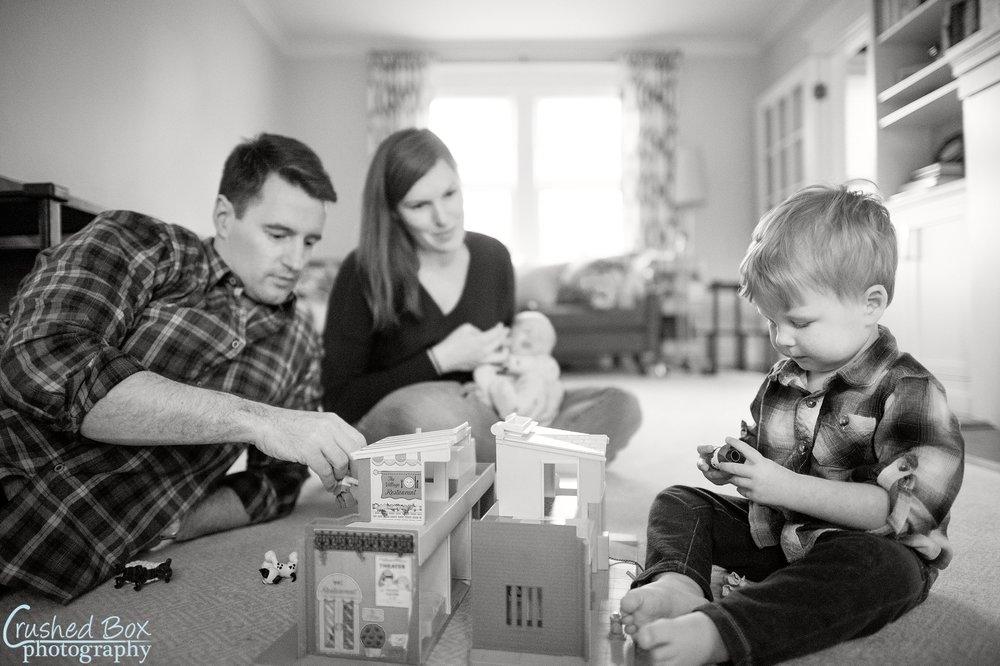 Crushed Box Photography Lifestyle Family  Portrait