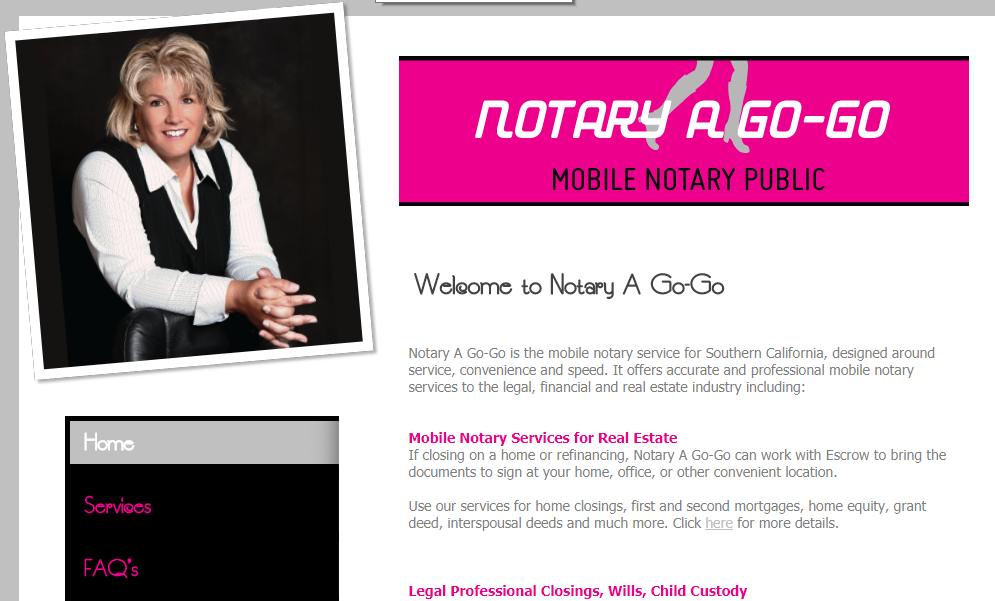 Notary a go go
