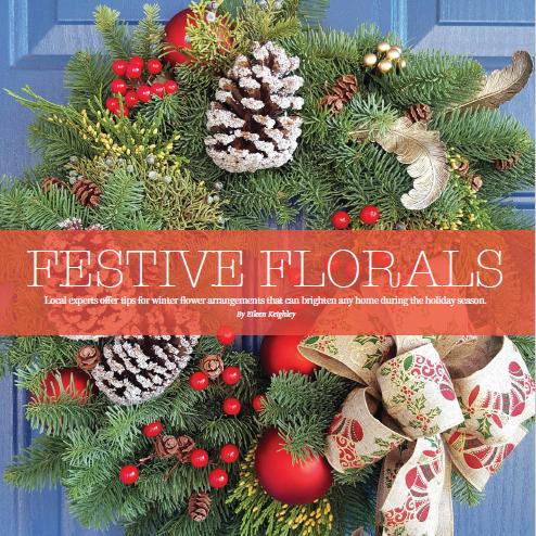 Laguna Beach Magazine Festive Florals
