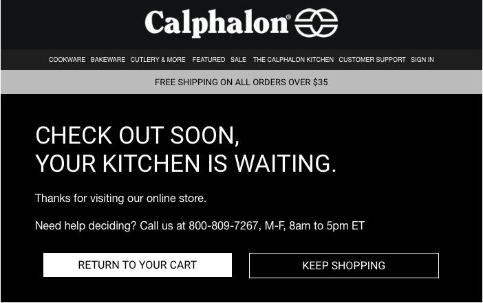Calphalon Abandon Cart.png