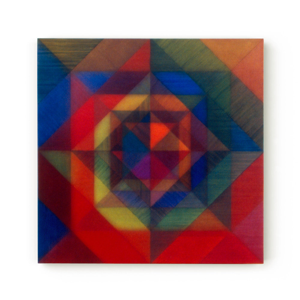 Beyond the Surface V   60 x 60 cms