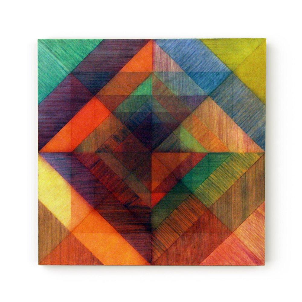 Beyond the Surface - Veil  70 x 70 cms