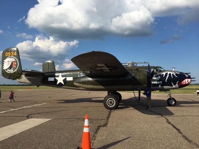 2017-07-31 B25 Bomber.JPG