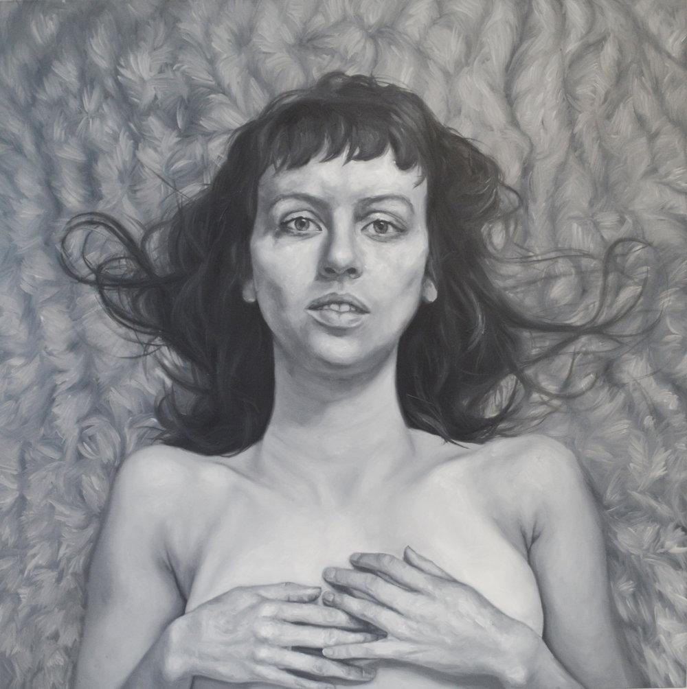 16_Chloe West_Untitled (Girl on Carpet)_Oil on Panel_2016.jpg