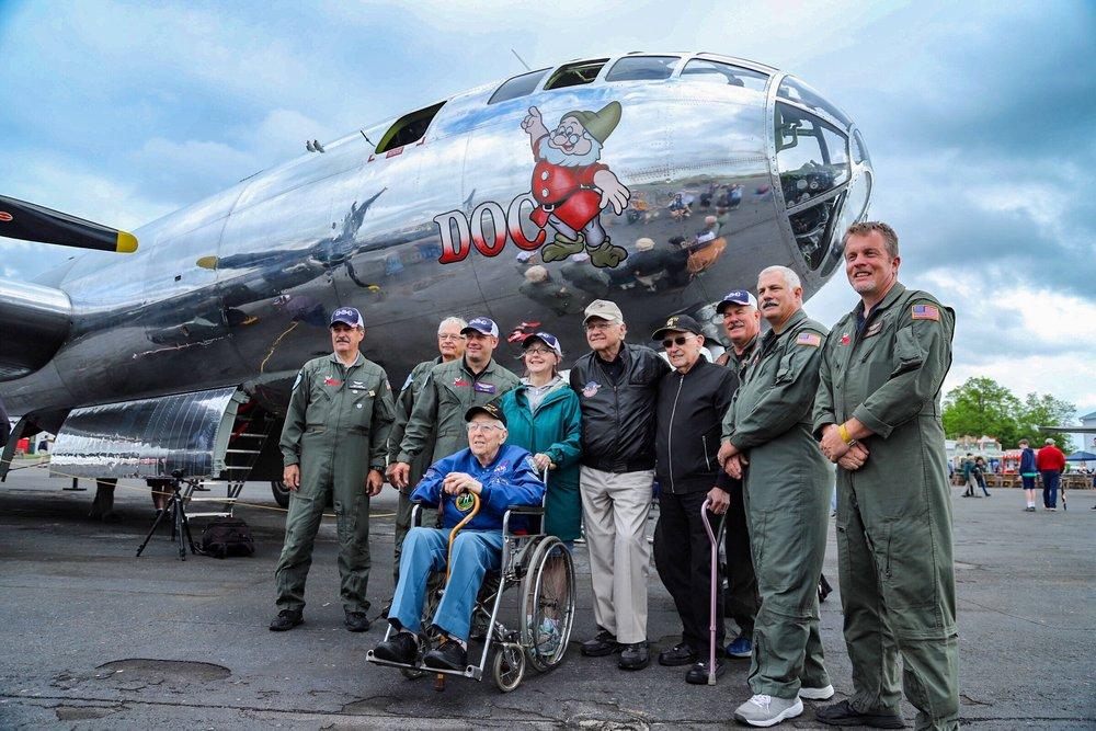 recap mid atlantic air museum wwii weekend collin callahan