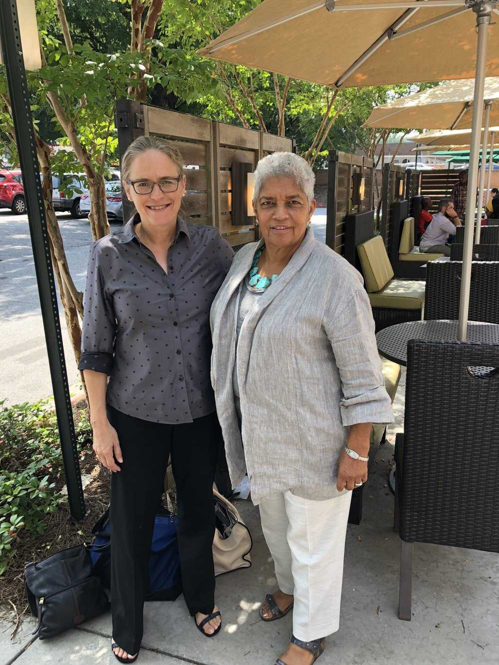 "Shirley Franklin, 58th mayor of atlanta - ""I'm proud to endorse Carolyn Bourdeaux for Congress. We need to elect more qualified women like her to office, and I know Carolyn's experience and ability to get things done will serve everyone in the 7th district well."""