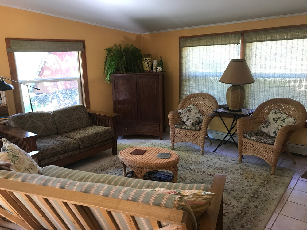 The Journey Inn Living Area with Large Window