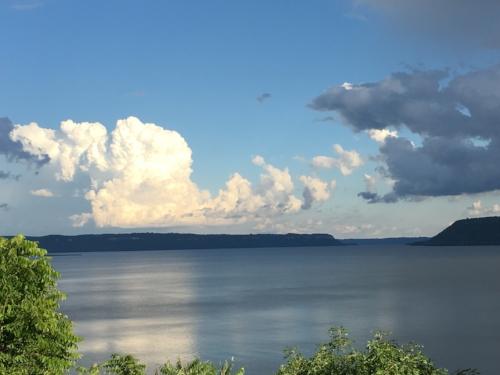 Lake Pepin, Wisconsin.