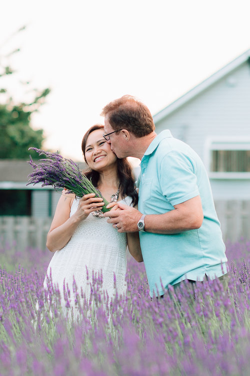Lidia & Otto Engaged    Lavender Love session — YouSee Photography