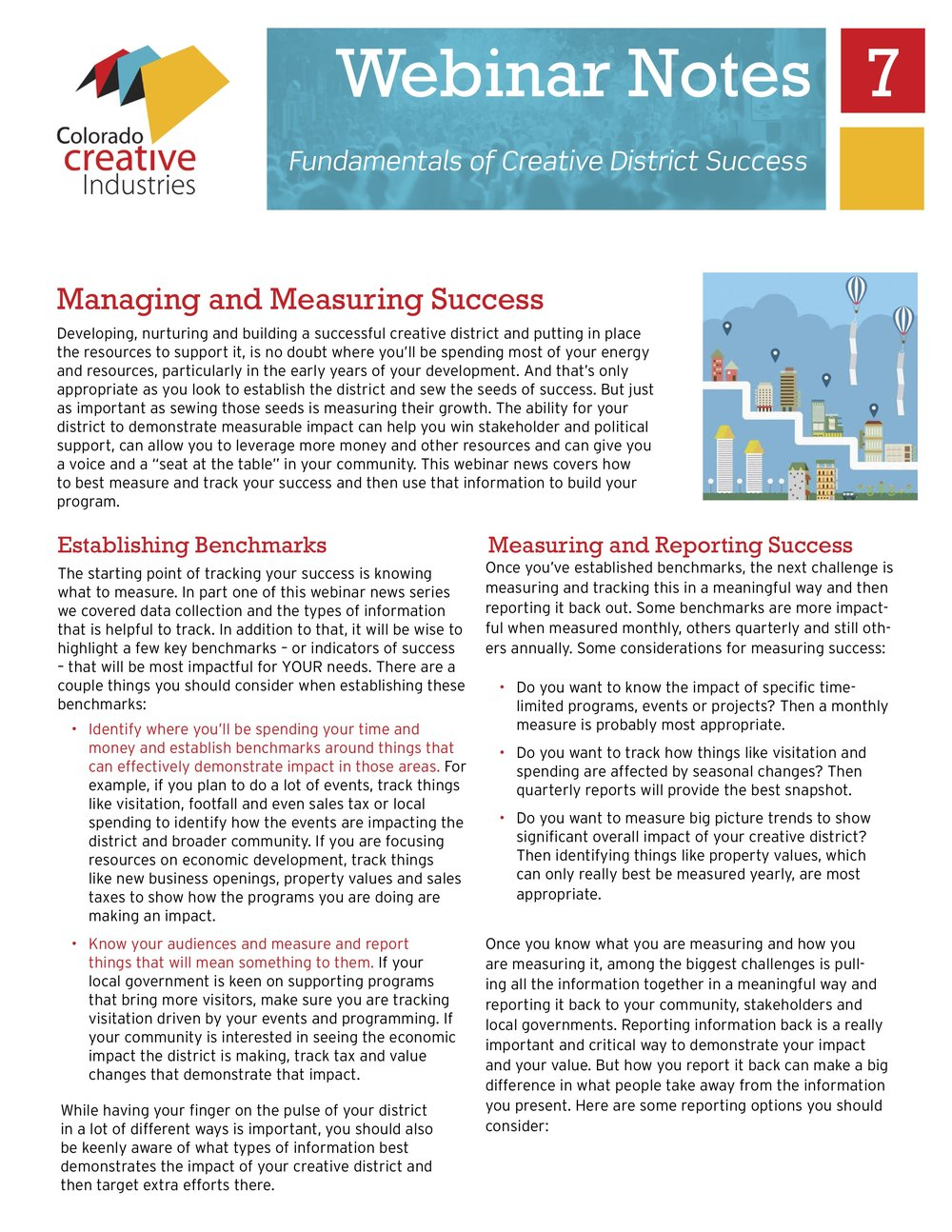 Managing and Measuring Success -