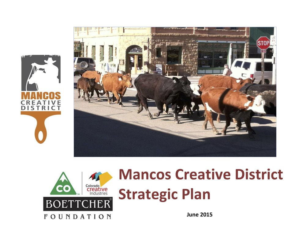Mancos Creative District Strategic Plan -