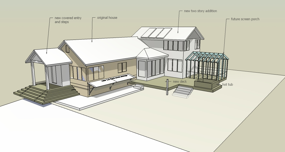 Sketchup model — Vermont Architect