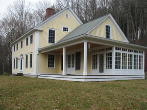 Vermont traditional house