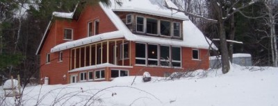 House renovation-retrofit on Cow Path 40 road in Marlboro Vermont