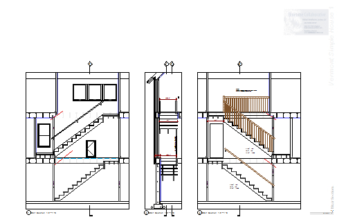 Typical Simple Construction Drawing Set Vermont Architect