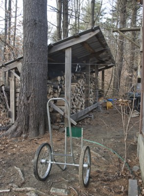 Bob's woodshed