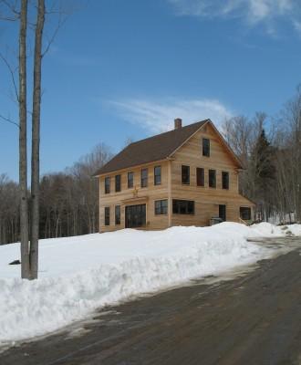 classic farmhouse in Vermont