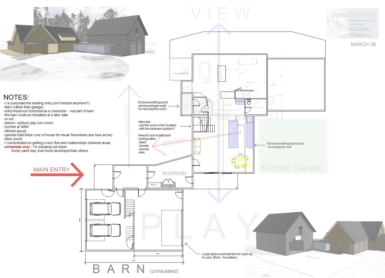 Pre Design As An Initial Feasibility Study Vermont Architect