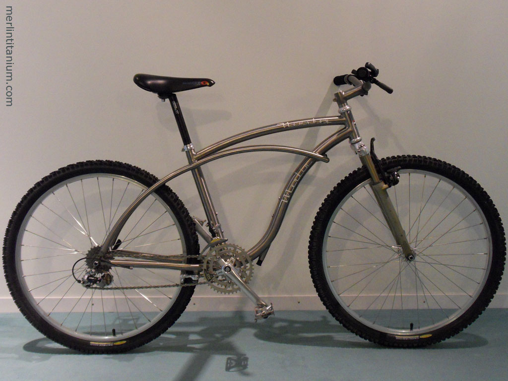 Merlin titanium newsboy mountain bike