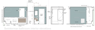 bathroom renovation drawings