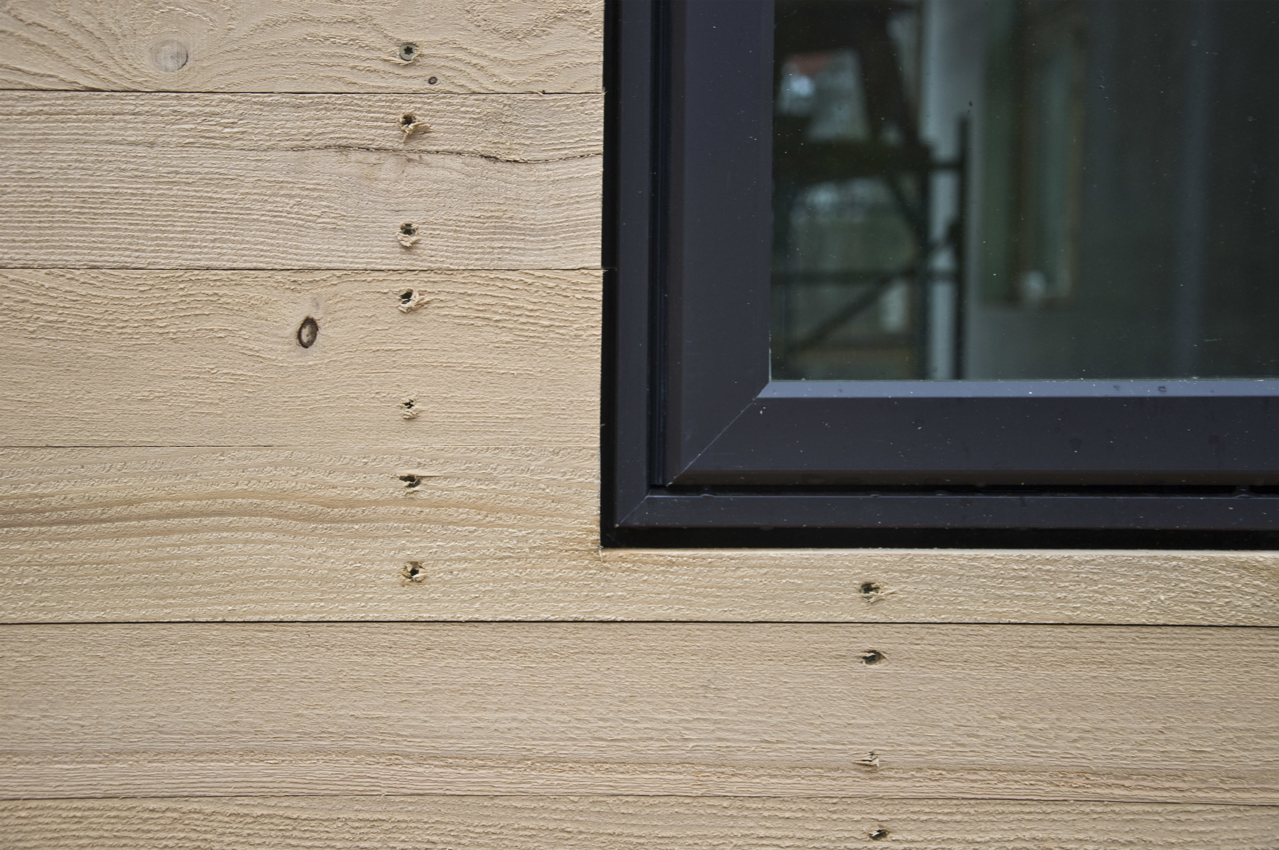 Eastern Hemlock siding detail
