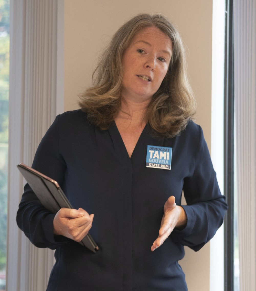 Tami On the Issues - Tami is a Progressive Democrat with over 15 years of experience negotiating and writing legislation on public health, substance use, and environmental protection.As our State Representative, Tami will fight for Medicare for All, funding for our schools and children, a fairer economy, equity and justice for every Massachusetts resident, and greater investment in affordable housing, public transit, and our state's infrastructure.