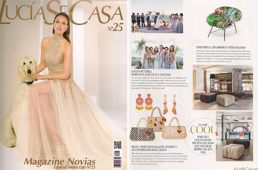 Lolita McTisell recomendada por Lucía Se Casa, la revista más leída y valorada por las novias.