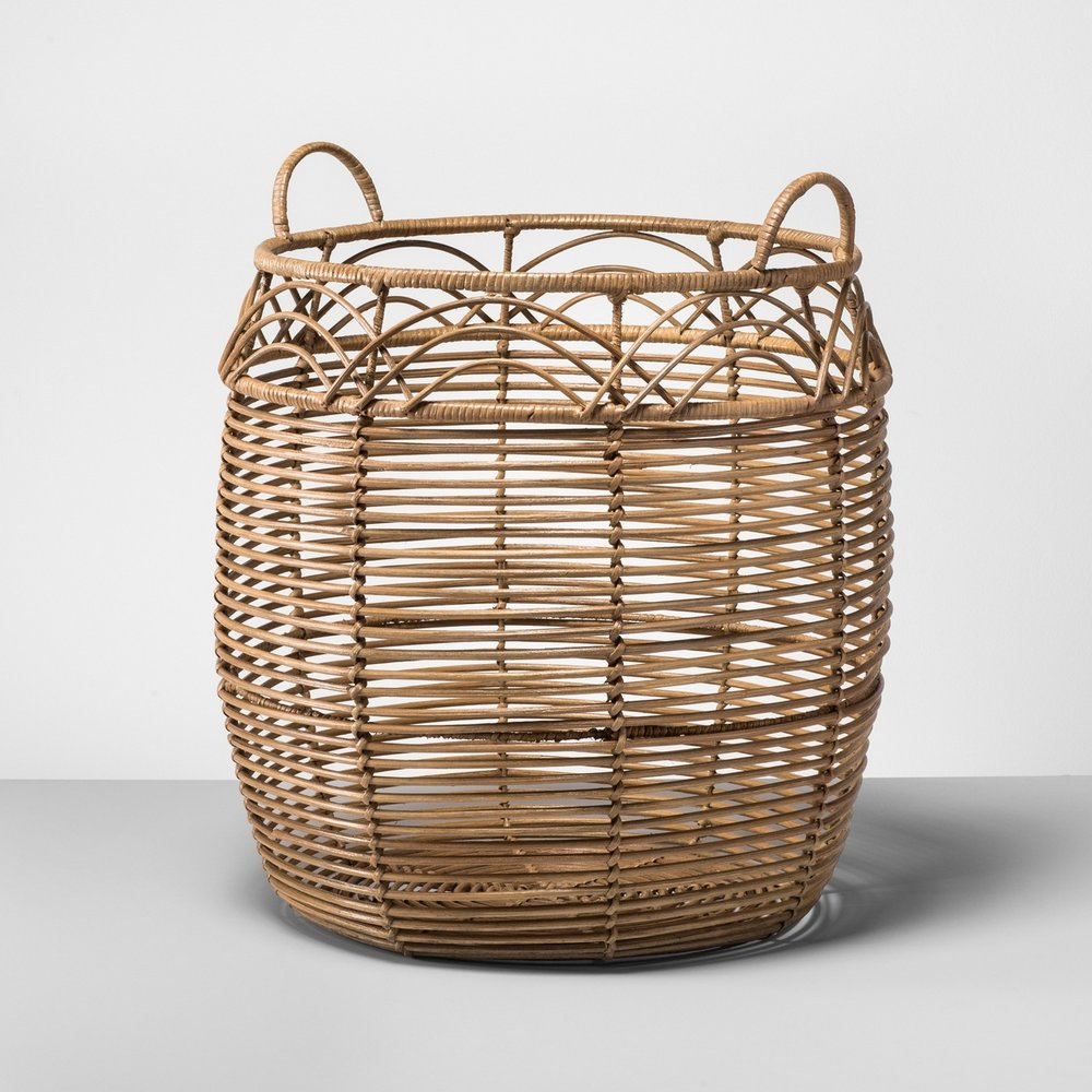 Large Rattan Basket \u0026nbsp; \u0026nbsp; ...  sc 1 st  Revival by Morgan Danielle & My Favorites from Target\u0027s New Opalhouse Collection
