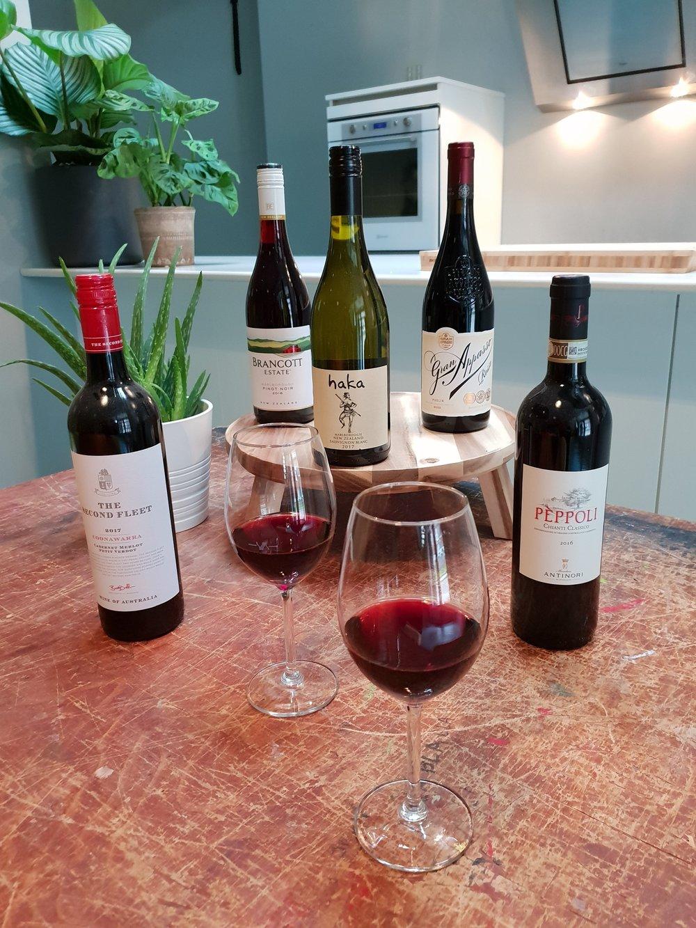 Mooie en bijzondere wijnen tijdens een wijnproefworkshop