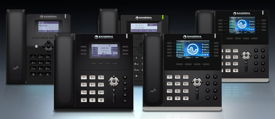 Complete range of phones for the enterprise including free access to Zero Touch provisioning tools such as End Point Manager and Redirection Server. Access high productivity features with support for Phone Apps including hot desking, queue control, voice mail noti ciations. High level of security with built in VPN.