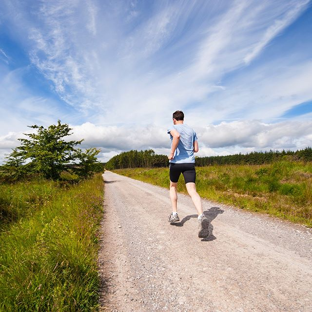 """#FitnessFriday The health benefits of  running are well known, but as this BBC article explains, exercise can also produce a potent """"high"""". As little as 30 minutes of intense cardio produces a surge of dopamine and endorphins--without the comedown."""