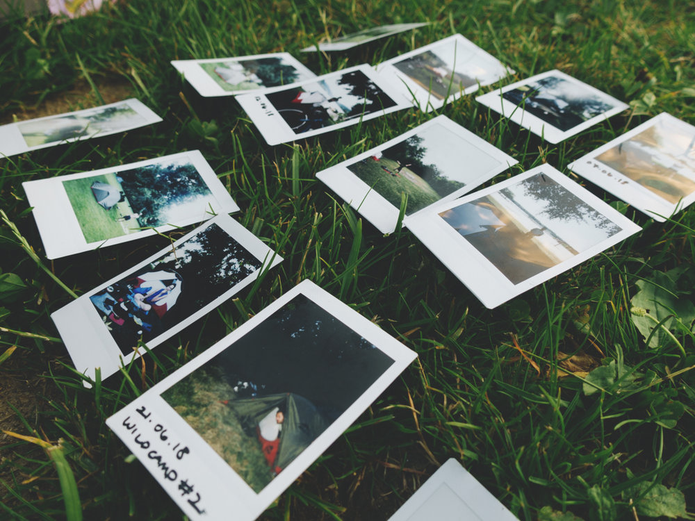 Polaroids from each placed we stay