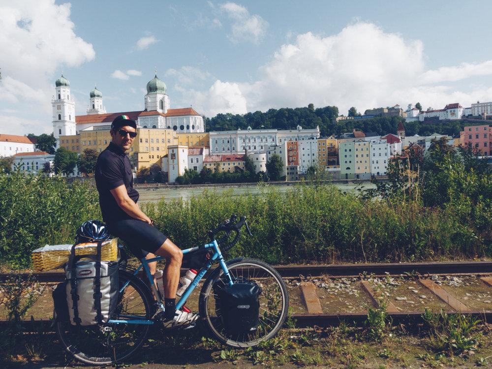 Leaving Passau
